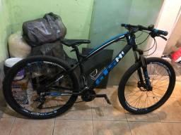 Bicicleta gts aro 29 freio a disco hidráulico câmbio 27 marchas| gts m1 i-vtec absolute