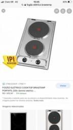 Fogão elétrico Brastemp