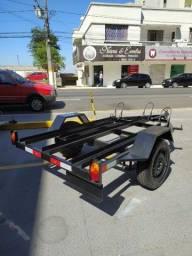Carretinha reboque p/moto 1.6x3.20 mts!!