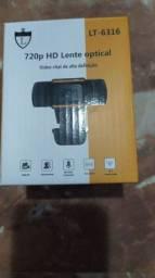 Webcam 720p HD lente óptica