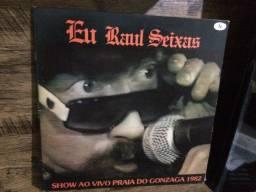 Lp Vinil Raul Seixas - Eu Raul Seixas Ao Vivo (semi Novo)