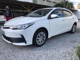 Vendo Corolla GLi 1.8 2018 Única Dona