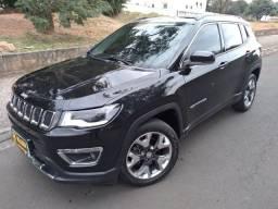 Jeep Compass Limited 2.0 Flex 4x2 2018 Baixa Km Impecável