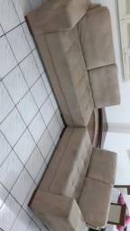 Vendo Conjunto de sofá 3 e 2 lugares