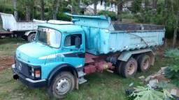 Caminhão caçamba truck 15m³ turbinado 1317 - Aceito trocas - 1986