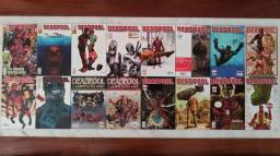 Revistas em quadrinhos Deadpool Marvel