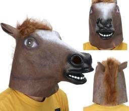 Máscaras De Látex Cabeça de Cavalo