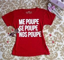 "T-shirts ""ME MOUPE SE POUPE NOS POUPE"""