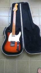 Guitarra SX Vintage Series - Muito nova - Já com no case Fender