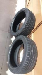 Vendo dois pneus 17 perfil 205/45
