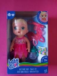 Baby Alive original lacrada na caixa
