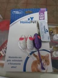 Conjunto 3 ratinhos com catnip