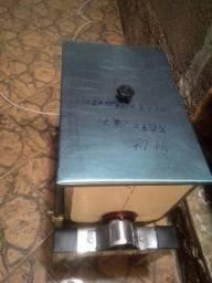 Misturadeira Inox 20 kg Manual ( pronta pra receber reduto e motor )