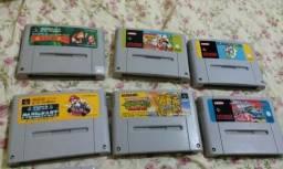 Cartucho Jogos Super Nintendo
