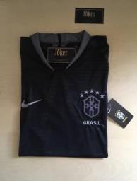 Camisa da seleção Brasileira 3º uniforme 2018/19
