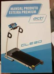 Esteira elétrica Fitness Cle 30 Premium Bivolt