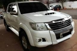 Toyota Hilux CD Srv D4-D 4x4 3.0 TDI Diesel Automática - 2012/2013 - 2012