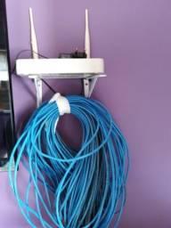Vende se 50 metros de cabo de internet mais molden