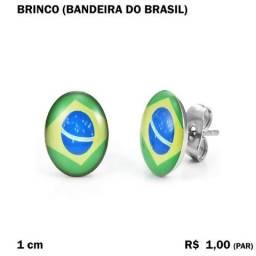 Brinco Bandeira do Brasil