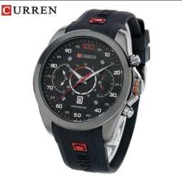 29c45517f06 Relógio Curren emborrachado