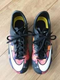 4638b05aef Chuteira Nike Mercurian campo CR7