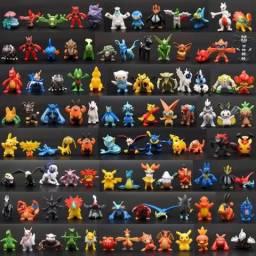 Kit 5 Mini Bonecos Pokemon Monster