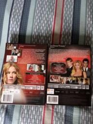 Vendo dvd novo série ravange 1 e 2 temporada