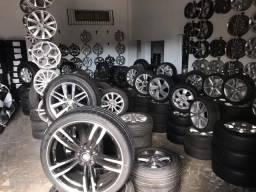 Rodas seminovas com pneus