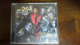 Para colecionadores CD e DVD dos 25 Anos de Thriller Original e Lacrado