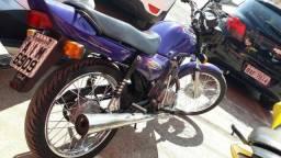 Moto cg 125 titan ano 1999 - toda original - 1999