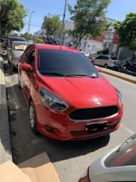 Ford Ka Vermelho - 2017