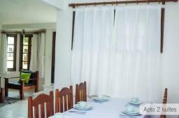 Apartamento de 3 suites na praia de taperapuan
