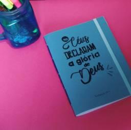 Caderno feito a mão - Salmos 19:1