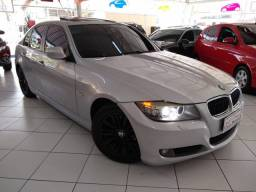 BMW 320 top teto solar couro nova bx km troco financio sem entrada