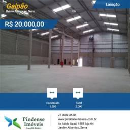 Galpão em Altosas - Serra, 20.000m²