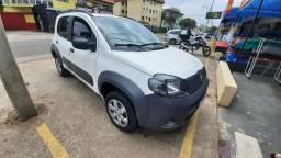 Fiat uno way 2014 financiado