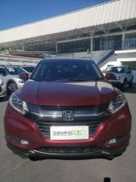Honda HR-V 1.8 Touring Top de Linha 34.000KM Completo Rodas 17 Bco Couro