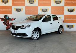 Renault Logan Authentique 1.0 12v 2019 Completo