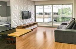 Apartamento com 1 dormitório para alugar, 59 m² por R$ 3.500/mês - Santo Amaro - São Paulo