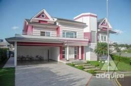 Casa em condomínio com 4 quartos no Villagio Del Tramonto - Bairro Estrela em Ponta Grossa