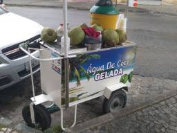 Carro De Água de Coco Completo