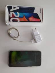 Samsung A20 32 1 mês de uso