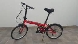 Bicicleta drobrimatica aro 20 muito bem conservada