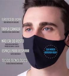Mascara Personalizada Bordada