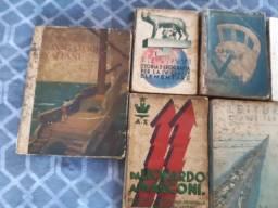 Livros Italianos Muito Antigos - Mais de 70 Anos - Colecionador