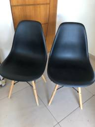 Cadeiras Charles Eames Preta