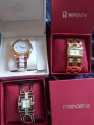 Relógios femininos mondaine L&Co