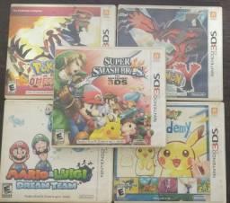 Jogos de 3DS usados