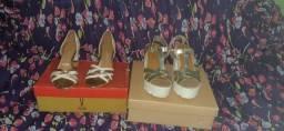 2 Pares de sapatos femininos