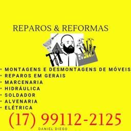 Daniel Diego Reparos e Reformas domiciliar